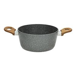 Casseruola TOGNANA - Porcellane Casseruola 20cm 2 Manici Stone&Wood
