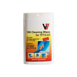 Supporto storage V7 - V7 salviettina detergente 100p