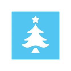 Fustella albero di Natale 16 mm