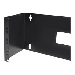 Startech - Startech.com staffa montaggio a parete con cerniera 4u 48 cm quadri per prese w
