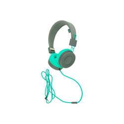 Wiko - Wishake headphone grey/bleen