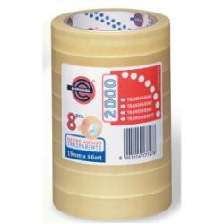 Nastro Eurocel - Pp 2000 nastro da imballaggio - 15 mm x 66 m - trasparente, miele 001122170