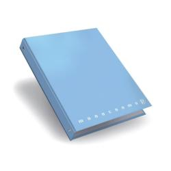 Quaderno Pigna - Moncromo A5 4 Anelli cf 5pz