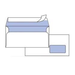 Busta Pigna - Silver 80 strip - busta - 110 x 230 mm - apertura laterale - bianco 0097584am