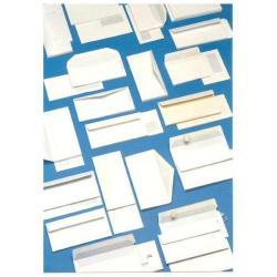 Busta Blasetti - Large - busta - 115 x 227 mm - apertura laterale - bianco - pacco da 500 0100