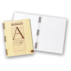 Blocco Pigna - Architetto A4 Spir. 40Ff 100gr 5pz