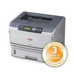 Imprimante laser OKI B840dn - Imprimante - monochrome - Recto-verso - LED - A3 - 1200 ppp - jusqu'à 40 ppm - capacité : 630 feuilles - parallèle, USB, LAN