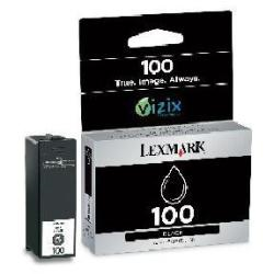 Cartuccia Lexmark - Cartridge no. 100 - nero - originale - cartuccia d'inchiostro 14n0820e