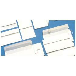 Busta Blasetti - Eco strip laser - busta - 110 x 230 mm - apertura laterale - bianco 0157