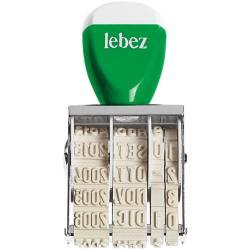 Timbro Lebez - No.2 - timbro 0179