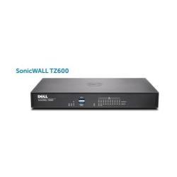 Firewall SonicWall - Tz600 - apparecchiatura di sicurezza - con 1 anno totalsecure 01-ssc-0219