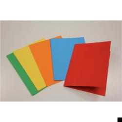Cartelletta Brefiocart - Color Semplice Rosso 50 pz
