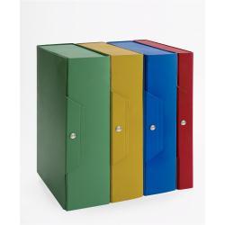 Raccoglitore Brefiocart - Cartella New Color Dorso 8cm Blu