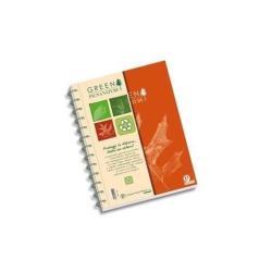 Quaderno Pigna - NATURE GREEN T5 Spiralato 135 Fogli