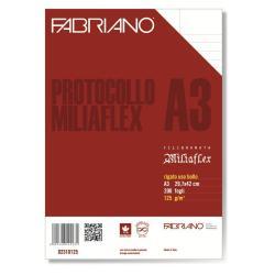 Carta Fabriano - CF4 RISME RIGATO USO BOLLO A3 200FF