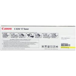 Toner Canon - C-exv 17 - giallo - originale - cartuccia toner 0259b002aa