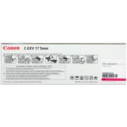 Toner Canon - C-exv 17 - magenta - originale - cartuccia toner 0260b002aa