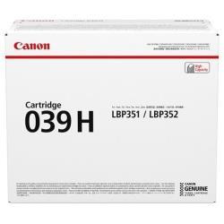 Canon - 039 h - nero - originale - cartuccia toner 0288c001