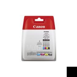 Serbatoio Canon - Cli-571 c/m/y/bk multipack - confezione da 4 0386c004
