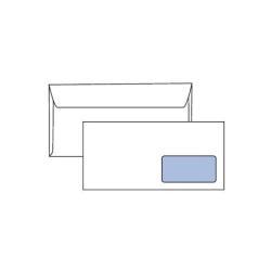 Busta Pigna - Speedmatic - busta - 110 x 230 mm - apertura laterale - pacco da 500 0388987am