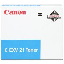 Toner Canon - C-exv 21 - ciano - originale - cartuccia toner 0453b002aa