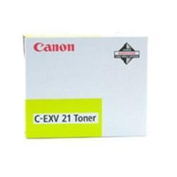 Toner Canon - C-exv 21 - giallo - originale - cartuccia toner 0455b002aa