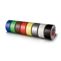 Nastro Tesa - Nastro in tessuto - 50 mm x 25 m - rosso 04688-00046-00