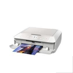 Imprimante  jet d'encre multifonction Canon PIXMA MG7751 - Imprimante multifonctions - couleur - jet d'encre - 216 x 297 mm (original) - A4/Legal (support) - jusqu'à 15 ipm (impression) - 125 feuilles - USB 2.0, LAN, Wi-Fi(n) - blanc