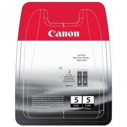 Serbatoio Canon - Pgi-5 black twin pack - confezione da 2 - nero - originale 0628b030