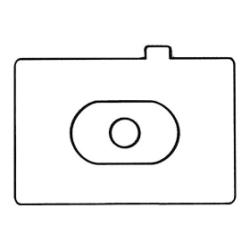 Schermo messa fuoco Canon - Ec-s - schermo messa a fuoco 0848b001