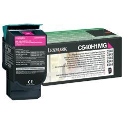 Toner Lexmark - Alta resa - magenta - originale - cartuccia toner - lccp, lrp c540h1mg