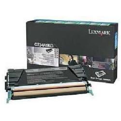 Toner Lexmark - Nero - originale - cartuccia toner - lccp, lrp c734a1kg