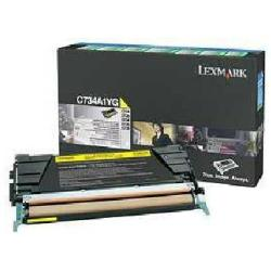 Toner Lexmark - Giallo - originale - cartuccia toner - lccp, lrp c734a1yg