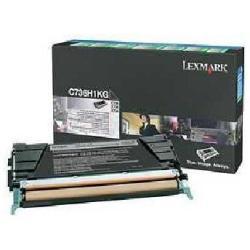 Toner Lexmark - Alta resa - nero - originale - cartuccia toner - lccp, lrp c736h1kg