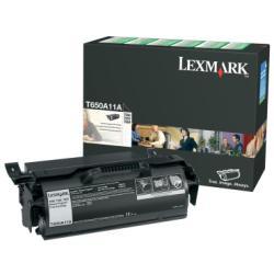 Toner Lexmark - Nero - originale - cartuccia toner - lccp, lrp t650a11e