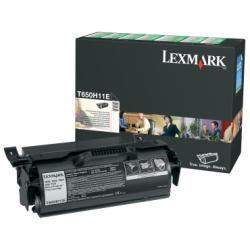 Toner Lexmark - Alta resa - nero - originale - cartuccia toner - lccp, lrp t650h11e