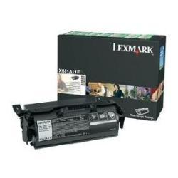 Toner Lexmark - Nero - originale - cartuccia toner - lccp, lrp x651a11e
