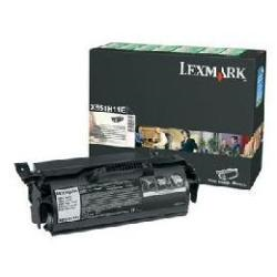 Toner Lexmark - Alta resa - nero - originale - cartuccia toner - lrp x651h11e