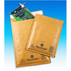 Busta Sealed air - Mail lite b/00 - busta postale - 120 x 210 mm - estremità aperta - oro 103027401