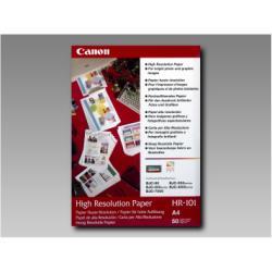 Carta fotografica Canon - Hr-101 - carta comune - 50 fogli - a4 1033a002aa