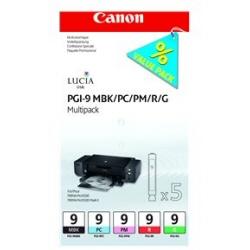 Serbatoio Canon - Lucia ink value pack pgi-9 mbp multipack 1033b011