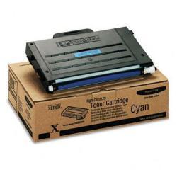 Toner Xerox - High-capacity phaser 6100 - alta capacità - ciano - originale 106r00680