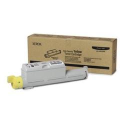 Toner Xerox - Phaser 6360 - alta capacità - giallo - originale - cartuccia toner 106r01220
