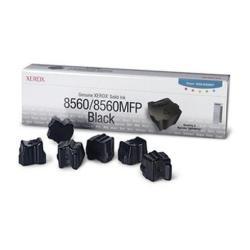 Inchiostro solido Xerox - Phaser 8560mfp - confezione da 6 - nero - inchiostri solidi 108r00727