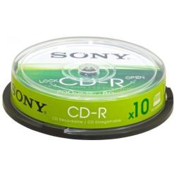 CD Sony - Cdq-80sp - cd-r x 10 - 700 mb - supporti di memorizzazione 10cdq80sp