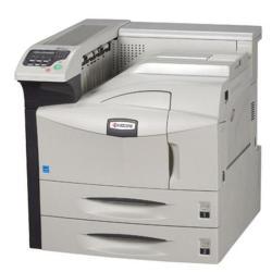 Imprimante laser Kyocera FS-9130DN - Imprimante - monochrome - Recto-verso - laser - A3/Ledger - 1800 x 600 ppp - jusqu'à 40 ppm - capacité : 1200 feuilles - parallèle, USB, LAN, hôte USB