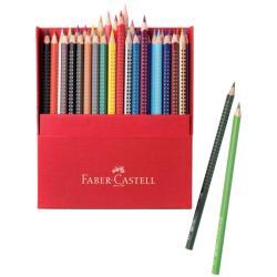 Kit creativo Faber Castell - Red Range - Pacchetto da 36 Pastelli colorati 112436