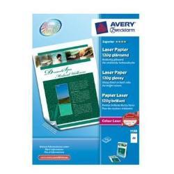 Carta fotografica Avery - Zweckform superior colour laser paper - carta fotografica - lucido 1198