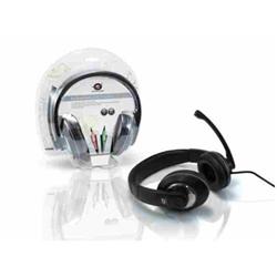 Conceptronic Lounge Collection CMUSICSTARG Professional Level Headset - Casque - pleine taille - gris, noir