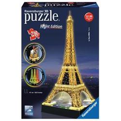 Puzzle Ravensburger - Night edition - Torre Eiffel 12579B